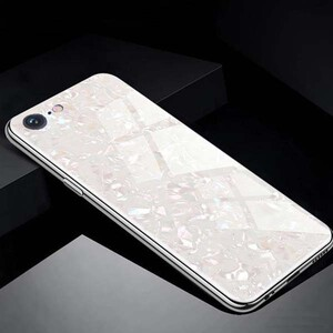 Fashion Marble Glass Case For Apple IPhone 78 (3)