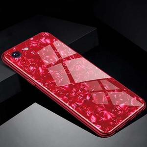 Fashion Marble Glass Case For Apple IPhone 66s (1)