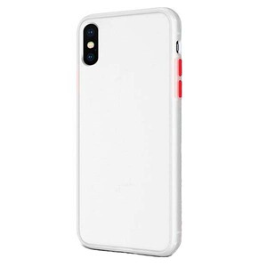 basuse Matte Clear Edge Cover For Samsung Galaxy A10 (1)