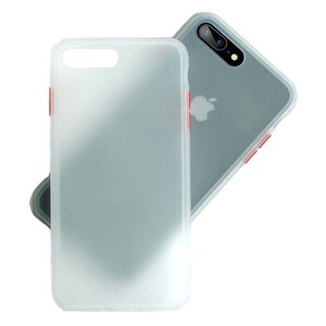 basuse Matte Clear Edge Cover For Apple iPhone 78 Plus (3)