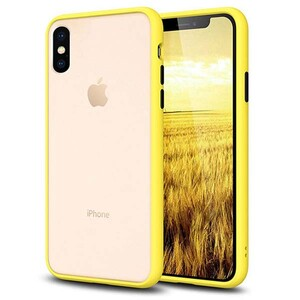 basuse Matte Clear Edge Cover For Apple iPhone X-XS (3)