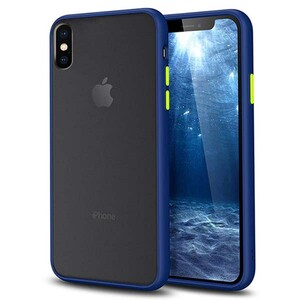 basuse Matte Clear Edge Cover For Apple iPhone X-XS (4)