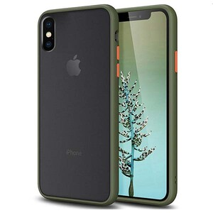 basuse Matte Clear Edge Cover For Apple iPhone X-XS (6)