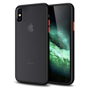 basuse Matte Clear Edge Cover For Apple iPhone X-XS (8)