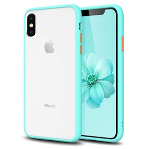 basuse Matte Clear Edge Cover For Apple iPhone XS Max (2)