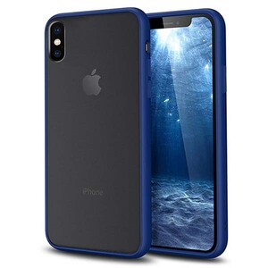 basuse Matte Clear Edge Cover For Apple iPhone XS Max (5)