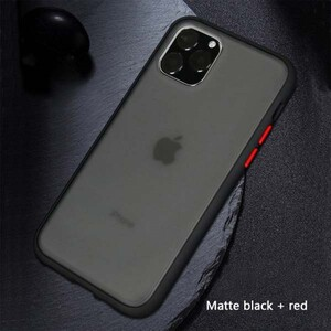 basuse Matte Clear Edge Cover For Apple iPhone 11 (4)
