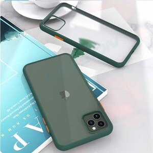 basuse Matte Clear Edge Cover For Apple iPhone 11 Pro Max (6)