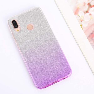 Insten Gradient Glitter Case Cover For Huawei Honor 8A (3)