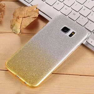 Insten Gradient Glitter Case Cover For Samsung Galaxy S6 Edge (3)