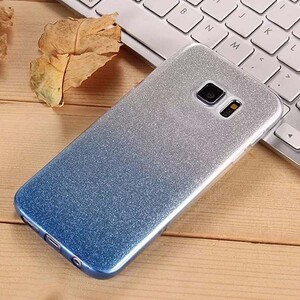 Insten Gradient Glitter Case Cover For Samsung Galaxy S6 Edge (4)