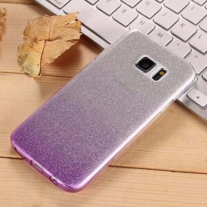 Insten Gradient Glitter Case Cover For Samsung Galaxy S6 Edge (6)