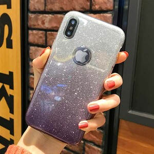 Insten Gradient Glitter Case Cover For Apple iPhone XS (3)