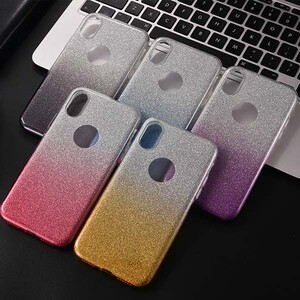 Insten Gradient Glitter Case Cover For Apple iPhone XS (5)