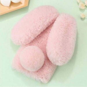 قاب عروسکی مدل خرگوشی گوشی موبایل آیفون 78 پلاس (3)