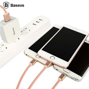 Baseus Sharing Series USB To microUSBLightning Cable 1 (2)