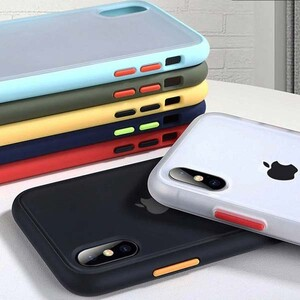 Platina Matte Clear Edge Cover For Apple iPhone XS Max (9)