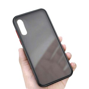 Platina Matte Clear Edge Cover For Samsung Galaxy A50 (8)