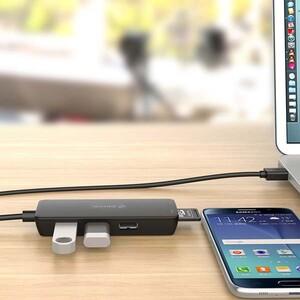 Orico H3TS-U2 3 Port USB Hub with Card Reader (3)