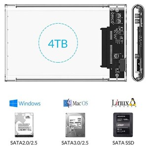 Orico 2139U3 2.5 inch USB 3.0 External HDD Enclosure (5)