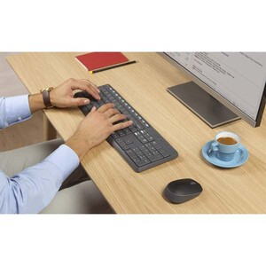 Logitech MK235 Wireless Keyboard and Mouse With Persian Letters (5)