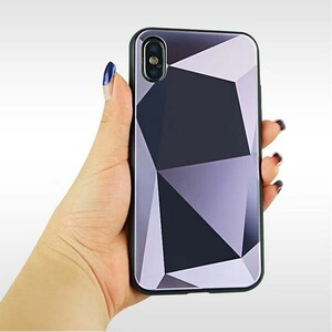 Diamond Mirror Bling Hard Case For Apple IPhone X (1)