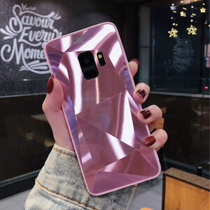 Diamond Mirror Bling Hard Case For Samsung Galaxy A6 (3)