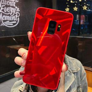 Diamond Mirror Bling Hard Case For Samsung Galaxy A6 (5)