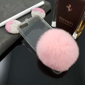 Diamond Mickey Fur Case for Apple iPhone 7