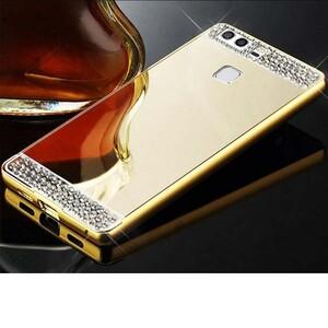Diamond Mirror Glass Case for Huawei P9 (1)
