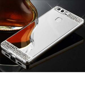 Diamond Mirror Glass Case for Huawei P9 (2)