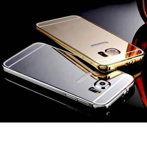 قاب آینهای دور فلزی مناسب برای گوشی سامسونگ Galaxy S6 Edge