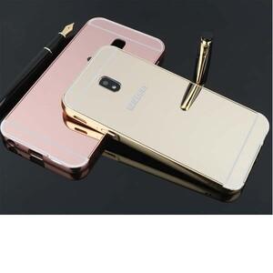 قاب آینهای دور فلزی مناسب برای گوشی سامسونگ Galaxy J7 Pro