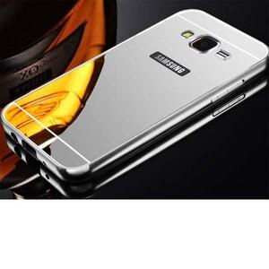 قاب آینهای دور فلزی مناسب برای گوشی سامسونگ Galaxy J5 2016