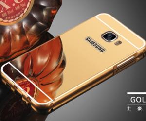 قاب آینهای دور فلزی مناسب برای گوشی سامسونگ Galaxy A8 2016