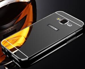 قاب آینهای دور فلزی مناسب برای گوشی سامسونگ Galaxy A7 2016