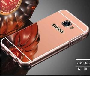 قاب آینهای دور فلزی مناسب برای گوشی سامسونگ Galaxy A3 2017