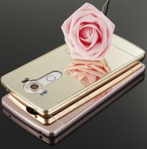 قاب آینهای دور فلزی مناسب برای گوشی الجی G5