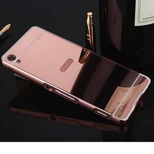 قاب آینهای دور فلزی مناسب برای گوشی سونی XA