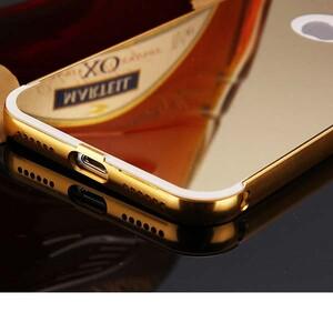 قاب آینهای دور فلزی مناسب برای گوشی آیفون 7 پلاس