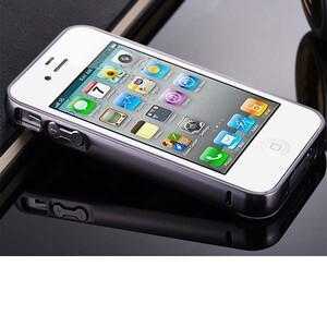 قاب آینهای دور فلزی مناسب برای گوشی آیفون 4/4s