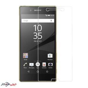 محافظ صفحه نمایش شیشه ای مناسب برای گوشی موبایل سونی Z5