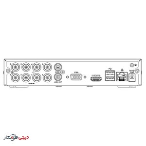 DVR-Dahua-DH-XVR1A08