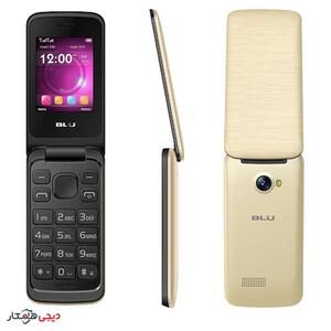 گوشی-موبایل-بلو-مدل-Diva-Flex-طلایی