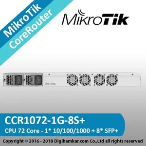 +MikroTik-CoreRouter-CCR1072-1G-8S