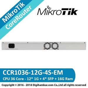 MikroTik-CoreRouter-CCR1036-12G-4S-EM