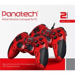 دسته بازی دوبل شوکدار حرفه ای Panatech مدل P-G501P
