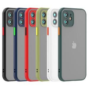 قاب پشت مات محافظ لنزدار  آیفون iPhone 12