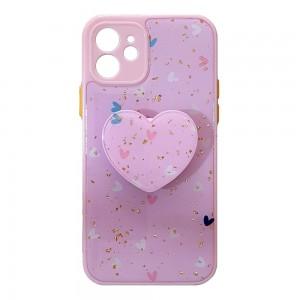 قاب رزینی با پاپ سوکت قلبی آیفون iPhone 12