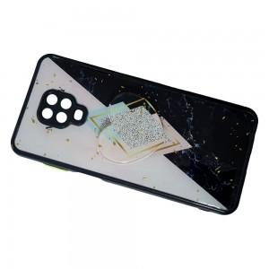 قاب رزینی با پاپ سوکت قلبی شیائومی Redmi Note 9 Pro